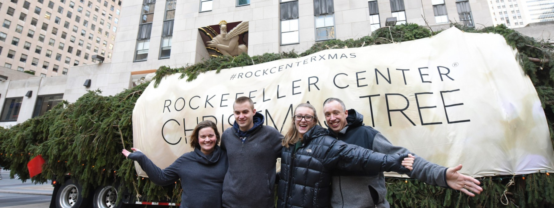 From Oneonta to Rockefeller Center