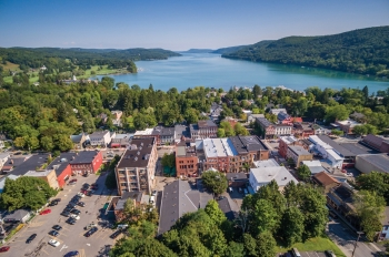 COOPERSTOWN AERIAL VIEW